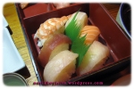 From the Sushi Bar - Sushi Sashimi Combi